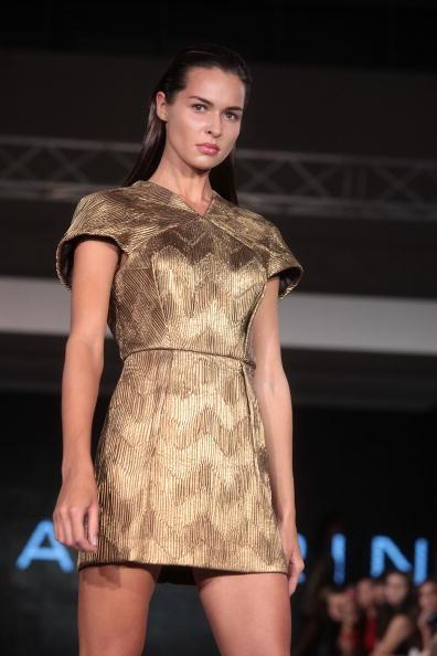 Презентация коллекции от Игоря Чапурина на шоу моды в Ташкенте, Узбекистан. Фото Yves Forestier/Getty Images