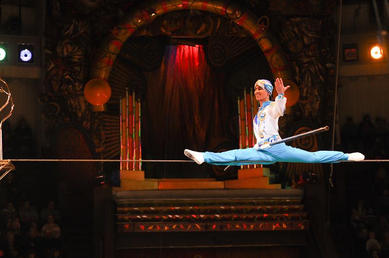 Столичний цирк представив нову програму «Від серця до серця». Фото: Володимир Бородін / Велика Епоха