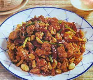 Самые популярные блюда китайской кухни: №2. Курица Гунбао (Gong Bao Chicken).