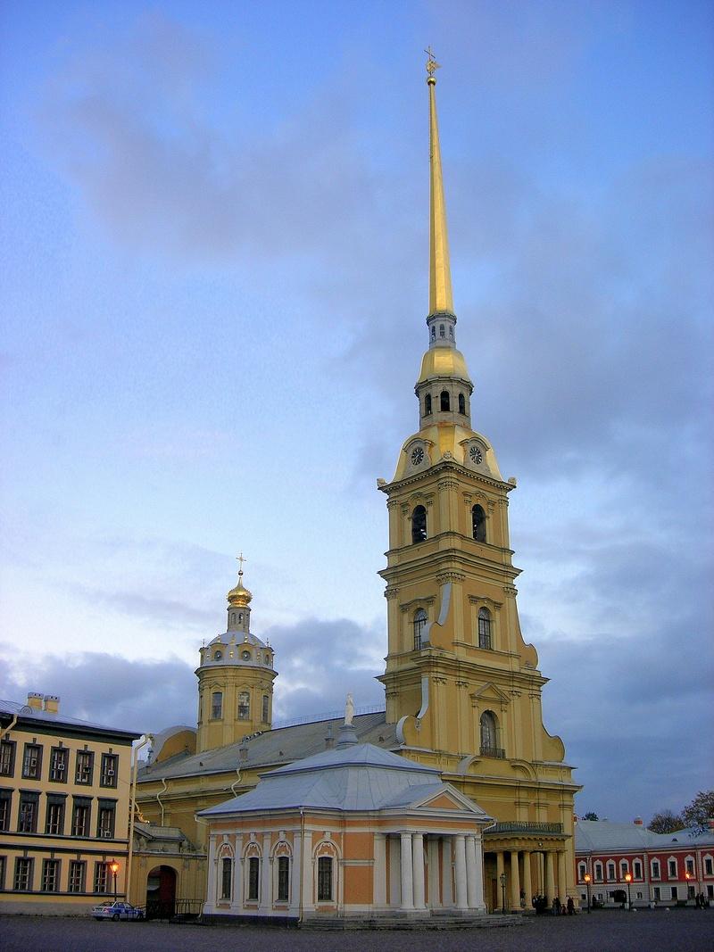 Ботный дом, Петропавловский собор