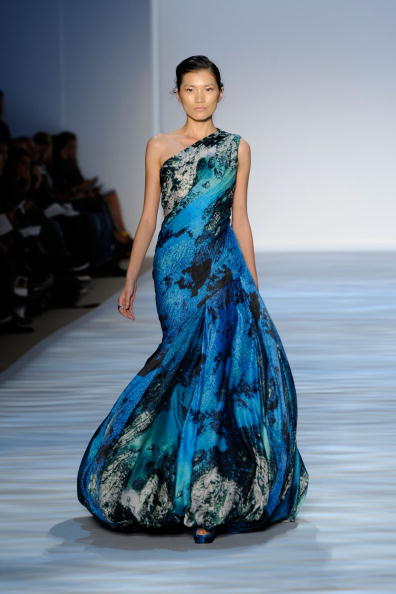Коллекция от Christian Siriano/Arun Nevader/Getty Images