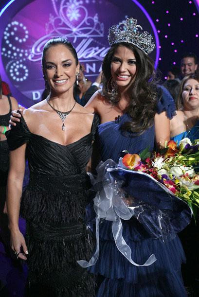 Ана Патрисия Гонсалес – новая королева красоты из Мексики. Фоторепортаж. Фото с сайта Univision.com