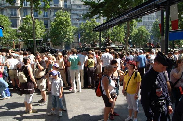 14 июля - главный Национальный праздник Франции. Париж,14 июля 2009г. Фото: Наталья ОРЬЁН/The Epoch Times