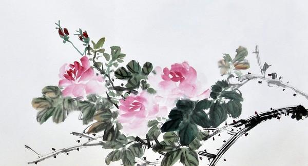 Троянда. Художник Жу І