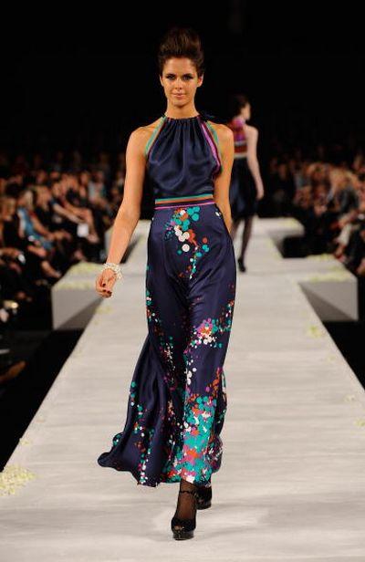 Фестиваль моды L'Oreal в Мельбурне. Одежда для женщин. Фото: Getty Images