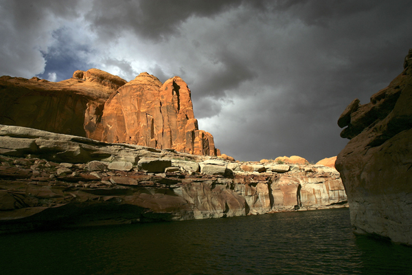 Озеро Пауелл, США. Фото: David McNew / Getty Images
