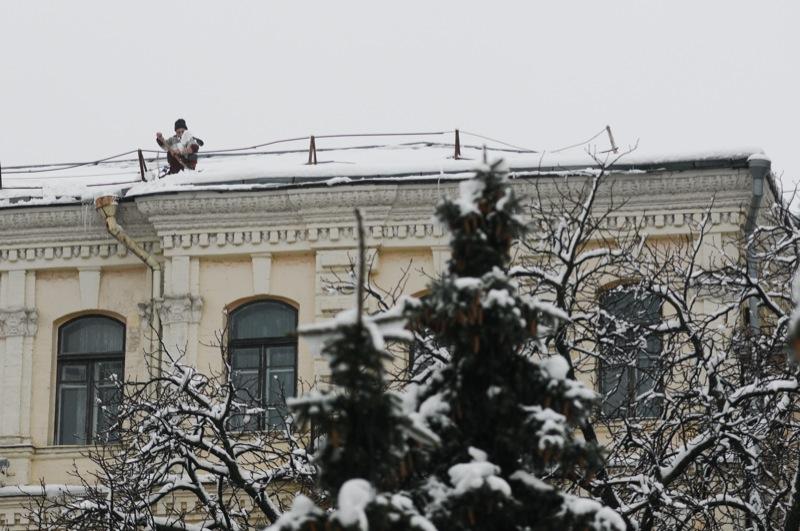 Київ опинився у «надзвичайній ситуації природного характеру» через рясні опади. Фото: Володимир Бородін / Велика Епоха