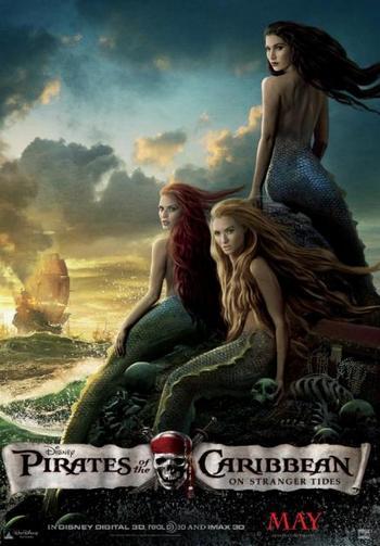 Постр фільму «Пірати Карибського моря: На дивних берегах». Фото: Walt Disney Pictures