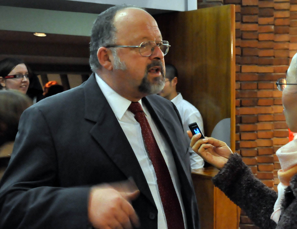 Профессор Карлос Морено из университета Патагонии. (The Epoch Times)