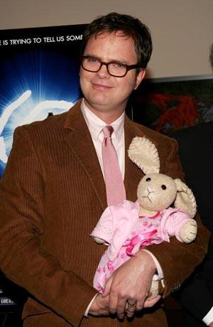 Актёр Рэйн Уилсон (Rainn Wilson) на премьере фильма Последняя Мимзи в Нью-Йорке. Фото: Evan Agostini/Getty Images