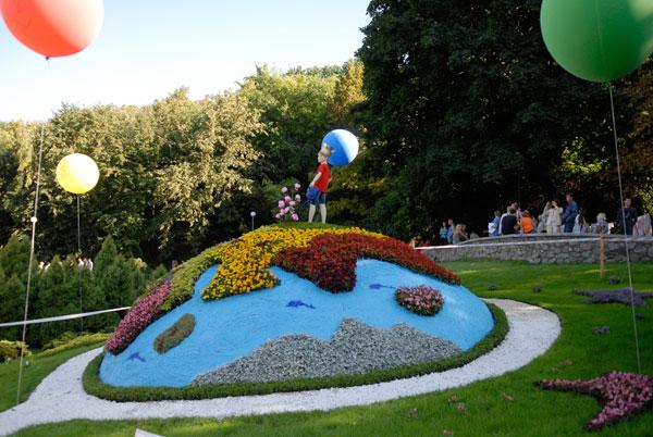 Выставка цветов открылась в Киеве. Фото: Владимир Бородин/The Epoch Times