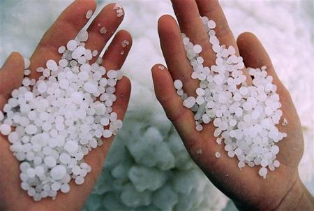 Перли з солі Мертвого моря. Фото: Зів Шерцер/Велика Епоха