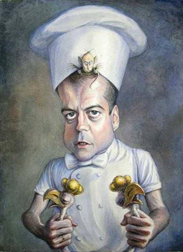 «Доброму кухарчуку постійно заважав зварити нормальний суп щурок, що копошиться в його голові зі своїми рецептами». Фото: nr2.ru