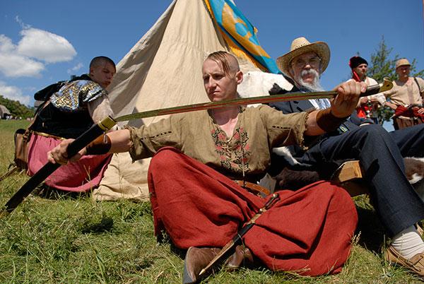 Первый Всеукраинский фестиваль боевого гопака Казацкие Забавы состоялся в Пирогово. Фото: Владимир Бородин/The Epoch Times