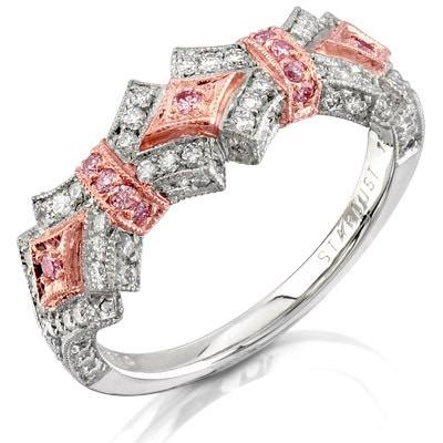 Уникальные украшения из розовых бриллиантов. Фото с epochtimes.com