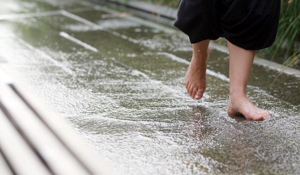 На восточное побережье США пришла сильнейшая жара. Фото: Mario Tama/Getty Images