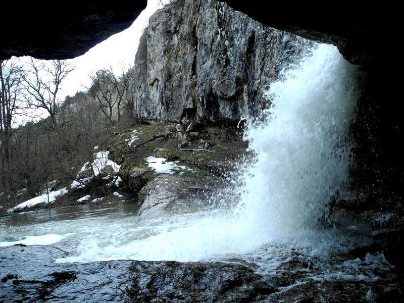 Нижний каскад водопада. Фото: Алла Лавриненко/The Epoch Times Украина