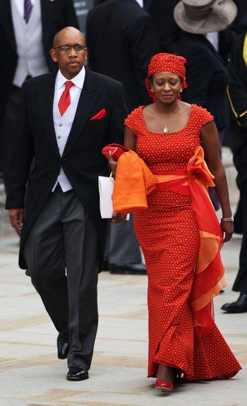 Принц Seeiso и принцесса Mabereng из Лесото. Фото: Dan Kitwood/Getty Images