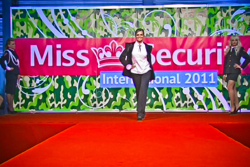 Конкурс Miss Security International прошёл в Киеве. Фото: Юлия Рябова/The Epoch Times Украина
