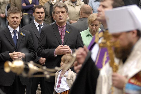 Президент принял участие в Дне памяти жертв политических репрессий. Фото: Владимир Бородин/The Epoch Times