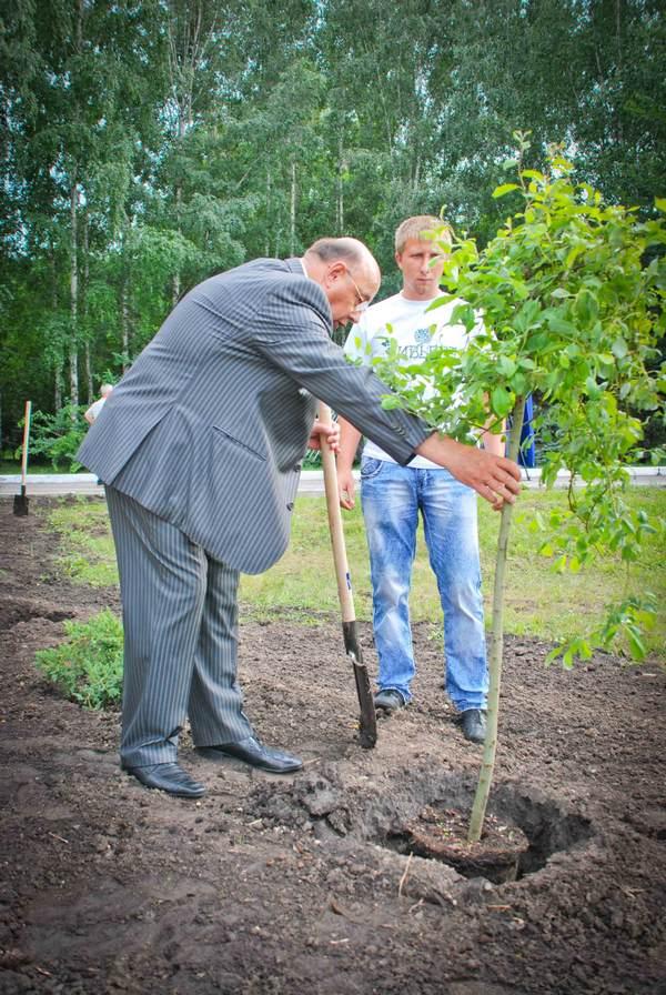 Сад Славы в Днепропетровске. Фото: Великая Эпоха