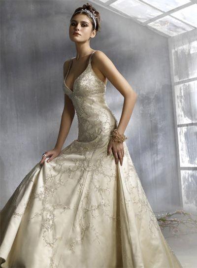 Весільні плаття lazaro 2008. Фото з efu.com.cn