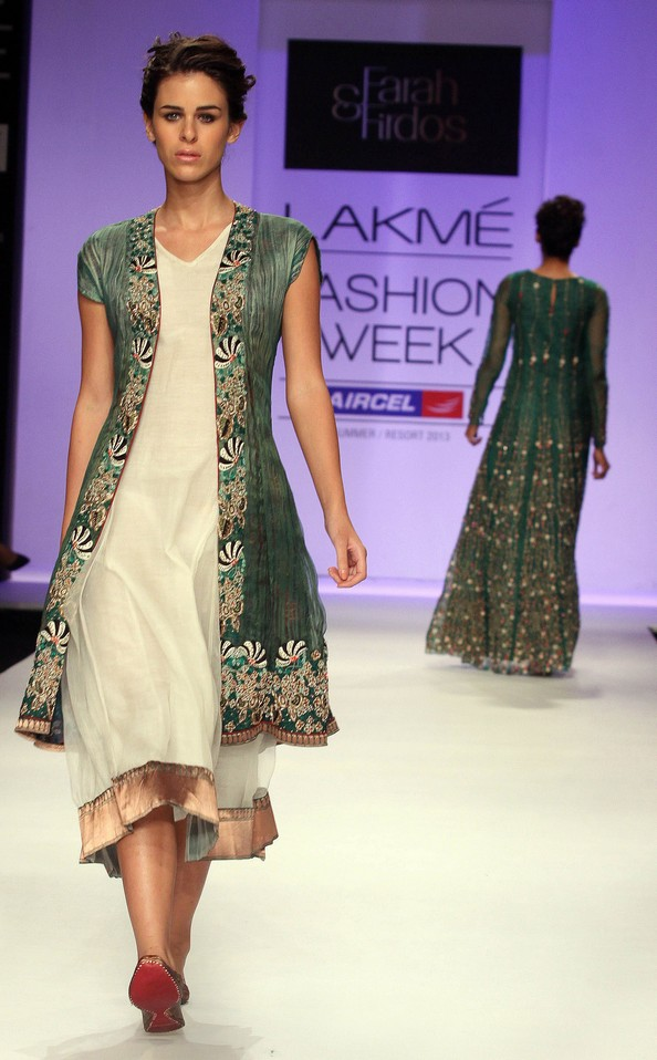 Индийская неделя моды Lakme Fashion Week. Фото: STRDEL/AFP/Getty Images