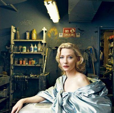 Кейт Бланшетт. Фото с efu.com.cn