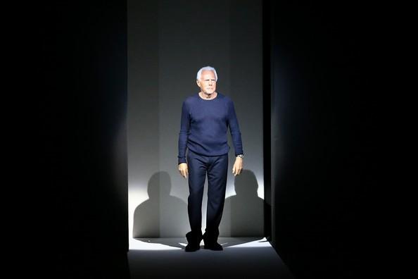 Коллекция Giorgio Armani на Миланской неделе моды. Фото: Vittorio Zunino Celotto/Getty Images