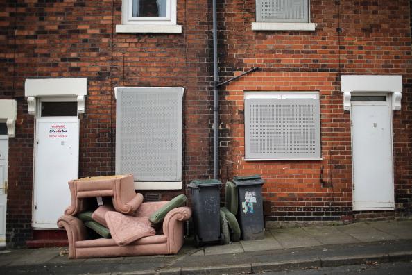 Заброшенный дом, который продали за 1 фунт стерлингов. Фото: Christopher Furlong/Getty Images