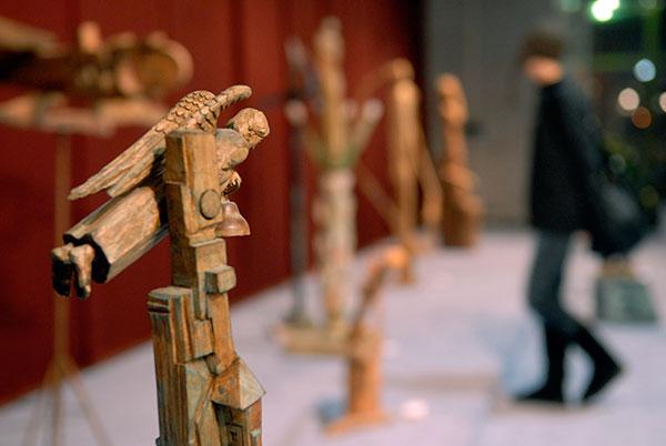 Скульптурный салон 2010 открылся в Киеве 1 марта. Фото: Владимир Бородин/The Epoch Times