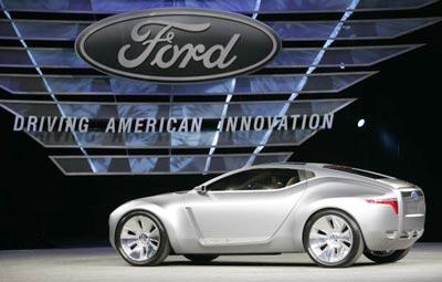 Нова модель Форда (Ford Reflex). Фото: JEFF HAYNES/AFP/Getty Images