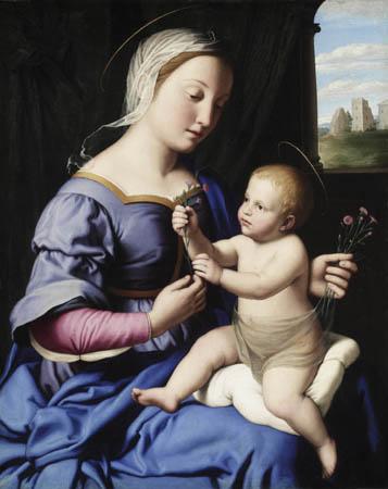 Сассоферрато. Мадонна с Младенцем. Детройтский институт искусств. Изображение: http://dia.org