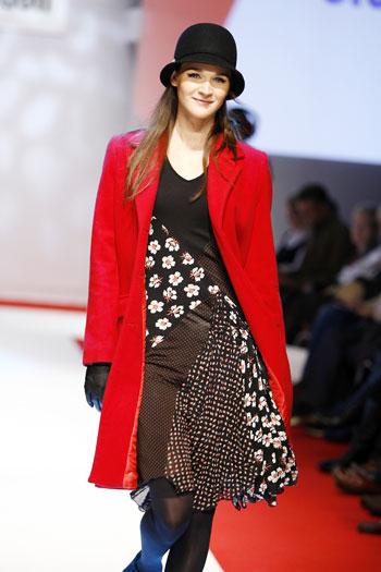 Во Франции в Париже прошла 3-х дневная международная выставка одежды INTERSELECTION, на которой были представлены коллекции одежды зима, весна и лето 2008.Фото: Interselection Groupe Eurovet