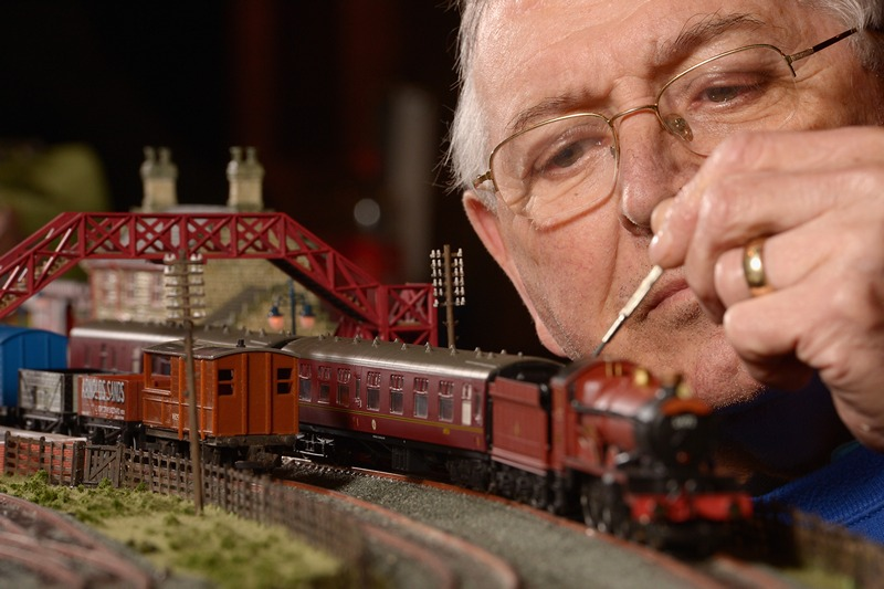 Выставка моделей железных дорог в Глазго. Фото: Jeff J Mitchell/Getty Images