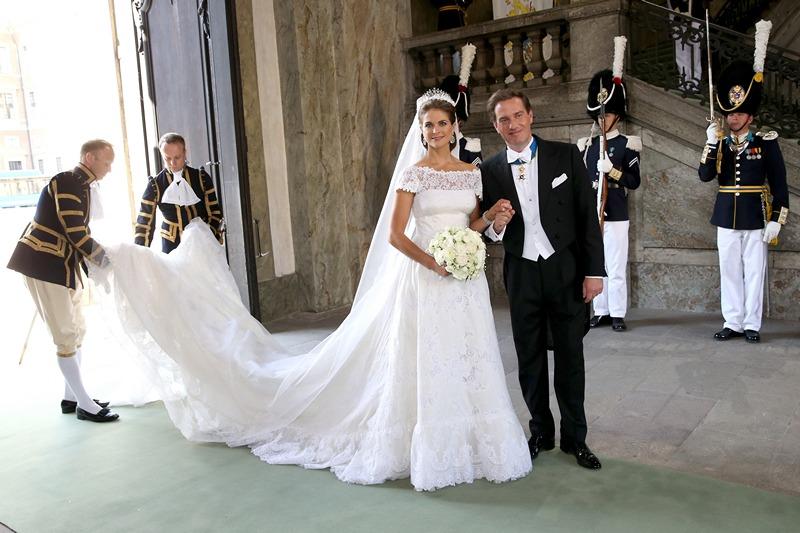 Стокгольм, Швеция, 8 июня. Принцесса Мадлен вышла замуж за американского финансиста Кристофера О'Нила. Фото: Chris Jackson/Getty Images
