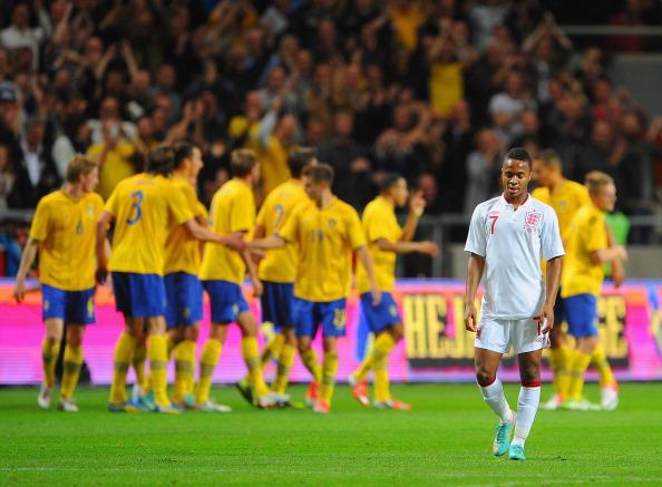Швеция — Англия Фото: Michael Regan /Getty Images Sport