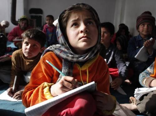Жизнь детей в Афганистане. Фото: Paula Bronstein/Getty Images