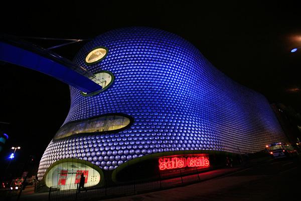 Торговый центр Selfridges в Бирмингеме (Англия). Фото: Christopher Furlong / Getty Images