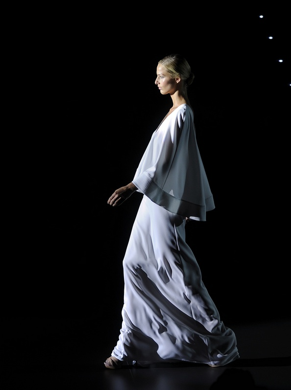Mercedes Benz Fashion Week: колекція Хуани Мартін. Фото: Carlos Alvarez/Getty Images