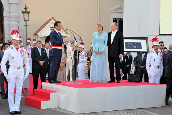 Свадьба князя Монако Альбера II и Шарлин Уиттсток. Фото: Pascal Le Segretain/Getty Images