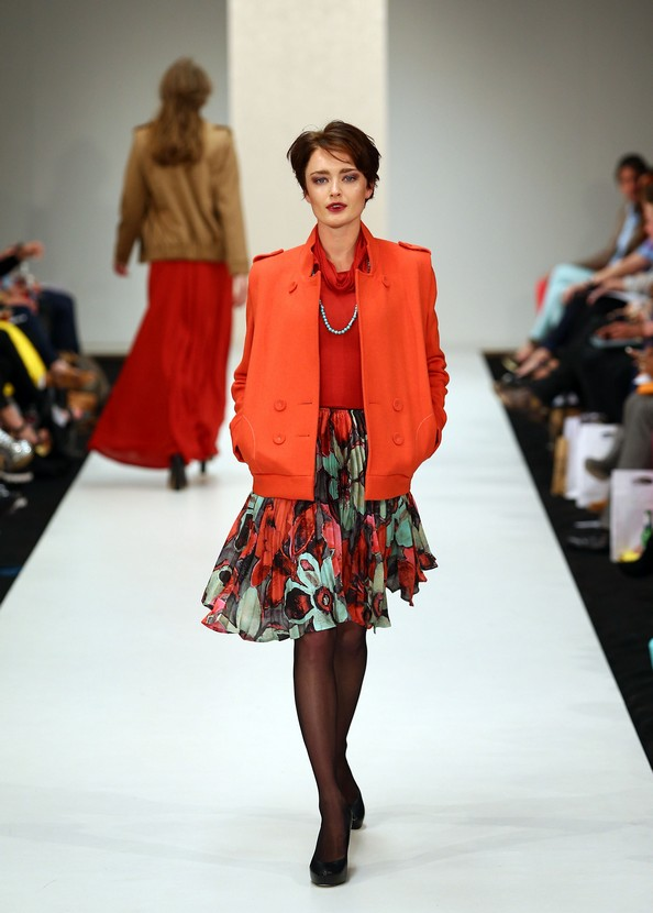Коллекция Дерин Шмидт (Deryn Schmidt) на Новозеландской неделе моды (New Zealand Fashion Week). Фото: Simon Watts/Getty Images
