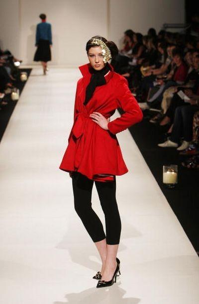 Коллекция Michelle Yvette Deuchar на неделе моды в Новой Зеландии 17 сентября. Фото: Tim Hales/Getty Images
