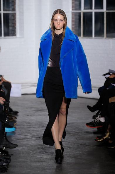 Колекція від Kye сезона осінь 2014 на Тижні моди Mercedes-Benz Fashion Week у Нью-Йорку. Фото: Jemal Countess/Getty Images