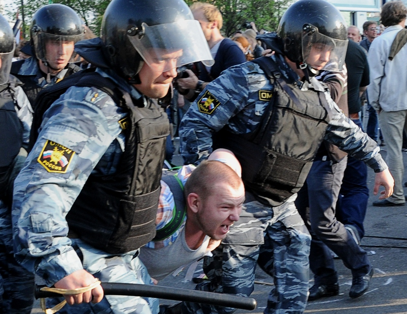 «Марш миллионов» в Москве. Фото: NATALIA KOLESNIKOVA/AFP/GettyImages