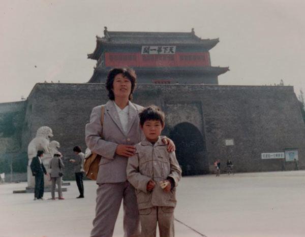 Ли со своей матерью Ли Юйшу. Фото предоставлено Ли