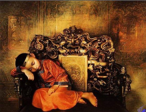 Дворцовая жизнь времён династии Цин. Фото с aboluowang.com