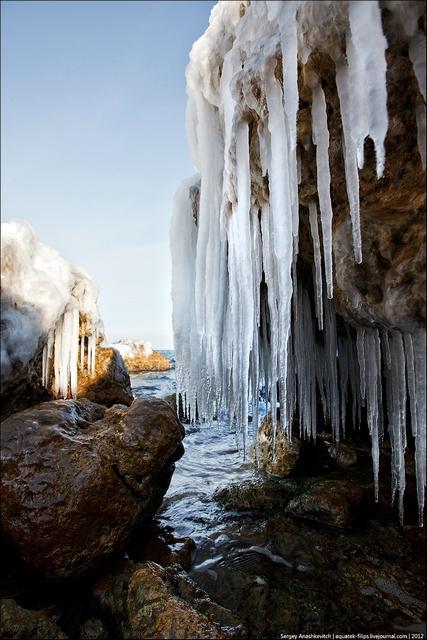 Зима — справжній художник і скульптор. Фото: aquatek-filips.livejournal.com