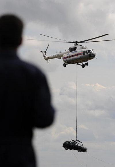 МАКС-2009 прошел с 18 по 23 августа в г. Жуковском. NATALIA KOLESNIKOVA/AFP/Getty Images