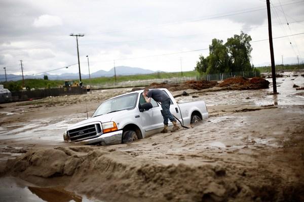 Каліфорнію накрило стихійне лихо. Фото: Eric Thayer/Getty Images